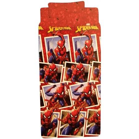 Completo lenzuola parure letto 3pz bambino piazza singola uomo ragno Spiderman