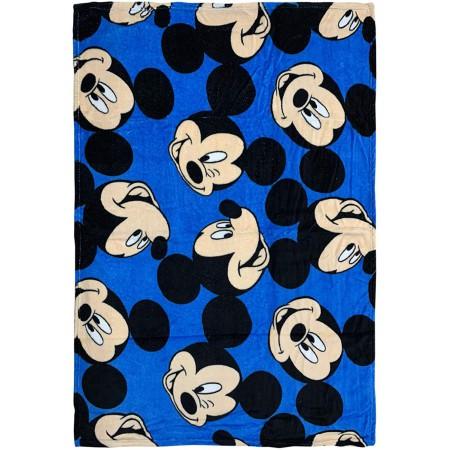 Plaid copertina coperta pile bimbo bambino Disney Mickey