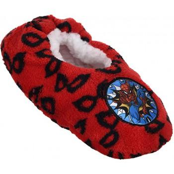 Pantofola ciabatta calza antiscivolo bambino spiderman red