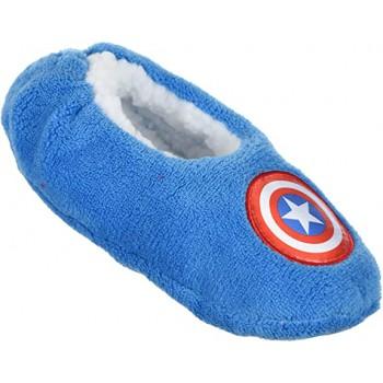 Pantofola ciabatta calza antiscivolo bambino avengers blue