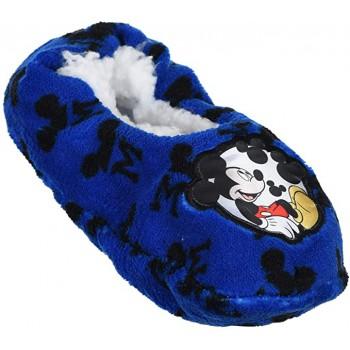 Pantofola ciabatta calza antiscivolo bambino disney mickey blue