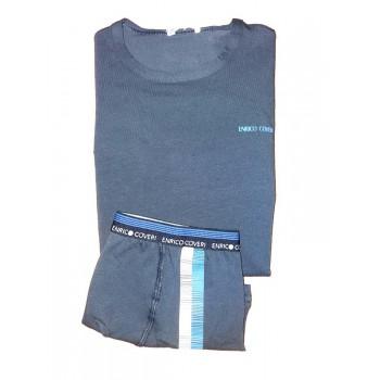 Coordinato intimo 2pz bambino enrico coveri tshirt e boxer