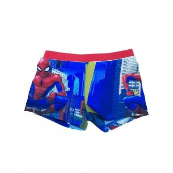 Costumino costume da bagno boxer bimbo bambino spiderman rosso