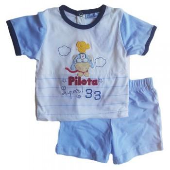Completo maglia maglietta pantaloncino  bimbo neonato