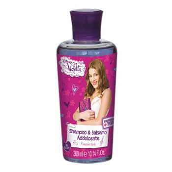 Shampoo e balsamo addolcente bimba bambina Disney Violetta