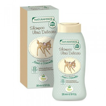 Shampoo sapone detergente biologico ultra delicato bimbo neonato Disney Bambi