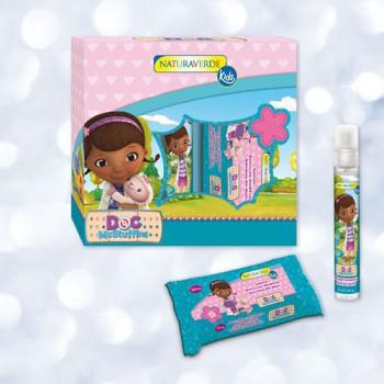 Gift set confezione regalo cofanetto bimba bambina Disney Dott.ssa Peluche