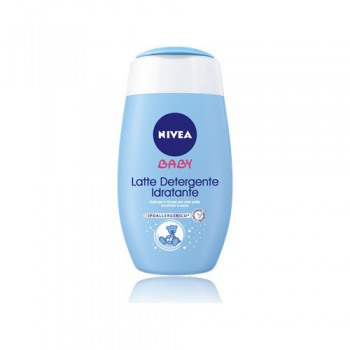 Latte detergente idratante bimbo neonato Nivea