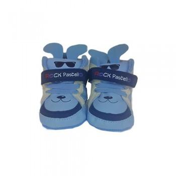 Scarpina scarpa bimbo neonato celeste