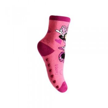 Calza corta calzino antiscivolo bimba bambina Disney Minnie rosa