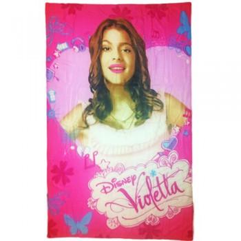 Plaid copertina coperta pile bimba bambina Disney Violetta